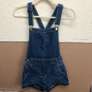 H&M Blue Denim Overall (Size 2)